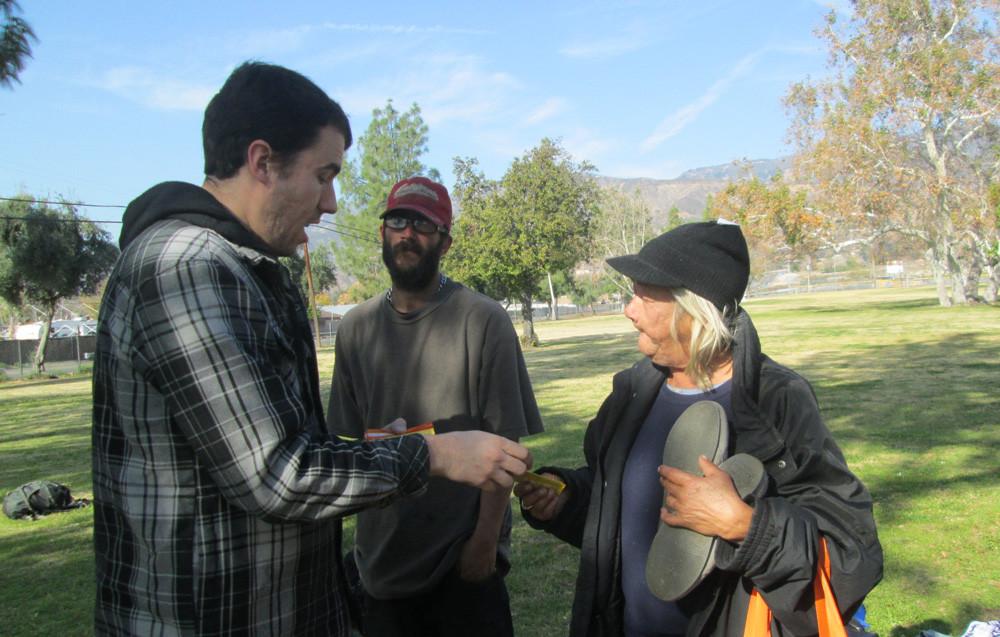 September Homeless Outreach