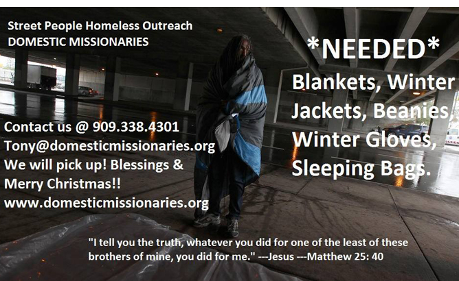 Blankets Needed