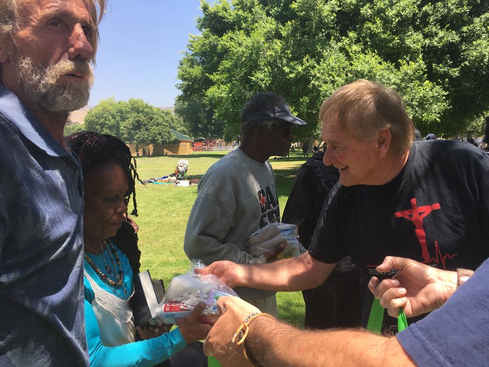 Sharing the Gospel in San Bernardino