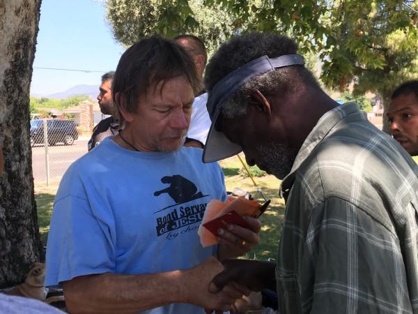 June 2017 Homeless Outreach (Video)