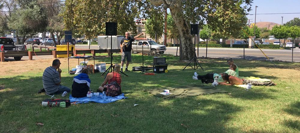 August 2017 Homeless Outreach